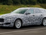 Teaser for Jaguar XF Sportbrake debuting in June, 2017