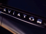 Teaser for Lincoln Aviator concept debuting at 2018 New York auto show