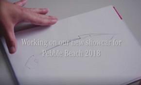 Teaser for Mercedes-Benz Aesthetics Progressive Luxury concept debuting on August 24, 2018