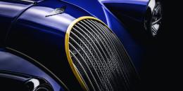 Teaser for 2018 Morgan Plus 8 50th Anniversary Edition debuting at 2018 Geneva auto show