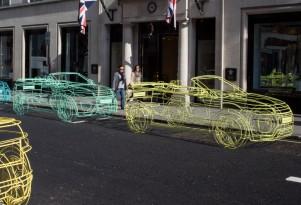 Teaser for new Land Rover Range Rover Evoque Convertible