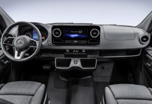Teaser for next-generation Mercedes-Benz Sprinter van