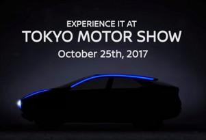 Teaser for Nissan concept debuting at 2017 Tokyo Motor Show