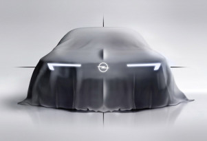 """Teaser for Opel concept introducing """"bold and pure"""" design language"""