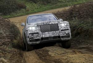 Teaser for Rolls-Royce Cullinan