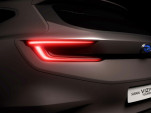 Teaser for Subaru Viziv Tourer concept debuting at 2018 Geneva auto show