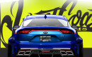 Teaser for wide-body Kia Stinger debuting at 2017 SEMA show