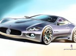 Teaser of the Pininfarina designed Maserati coupe