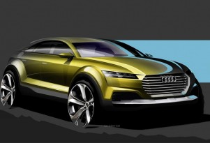 Audi Q4 Hybrid Crossover Concept: Sketches Appear Before Beijing Show