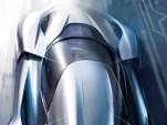 Teaser sketch for NextEV supercar