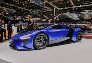 Supercars stampede toward hybrids, electric power: Geneva roundup