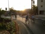 Tel Aviv, Israel, free of traffic during Yom Kippur holiday [photo: Brian of London]