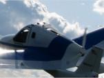 Terrafugia prototype in flight