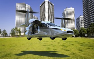 Terrafugia XF-T Flying Car Offers Vertical Takeoff