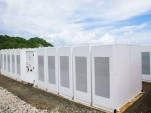 Tesla and SolarCity energy storage array on Ta'u, American Samoa