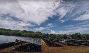 Tesla and SolarCity Ta'u renewable energy project screenshot