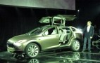 2014 Tesla Model X All-Electric Gullwing SUV: New Info, Photos