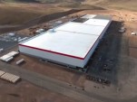 Latest drone footage of Tesla Gigafactory shows progress