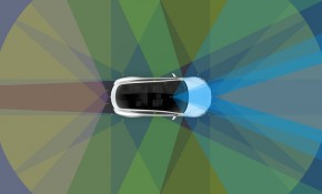 Tesla Hardware 2 self-driving technology