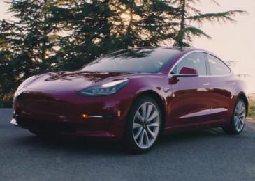 Elon Musk announces Tesla Model 3 AWD, performance Model 3 specs