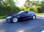 Tesla Model S Autopilot testing with IIHS [CREDIT: IIHS]