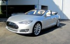 Tesla Model S Convertible Is Real, And It's On eBay: Video