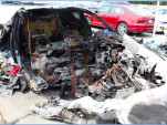 Tesla Model S crashed in Ft. Lauderdale, at storage yard