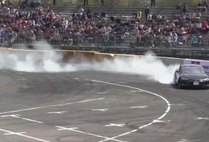 Tesla Model S Drift