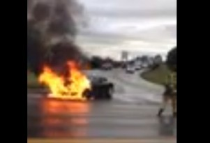 First Tesla Model S Fire Caused By Collision With Road Debris