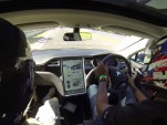 Tesla Model S tackles the Nurburgring