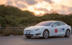 Italians drive Tesla Model S 669 miles to set record