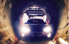 Tesla Model S has no problem fitting inside The Boring Company's tunnels
