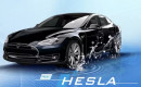 "Dutch ""Hesla,"" a hydrogen fuel cell-powered Tesla Model S"