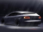 RemetzCar Tesla Model S shooting brake design sketch