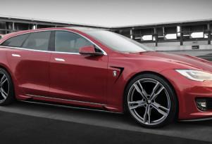 Ares Tesla Model S shooting brake conversion