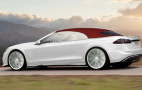 Ares previews a stylish Tesla Model S convertible