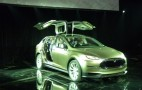 2014 Tesla Model X 'Falcon Doors' May Limit Crossover Utility