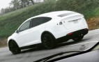 Tesla Model X: Video, Spy Shots Of Prototype Testing On CA Roads