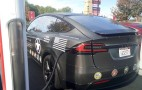 Custom Tesla Model X Thanks Company's Veterans, Model S Too