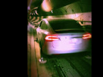Tesla Model X in Boring Company tunnel