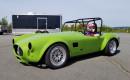 Tesla-powered EPower Racing Cobra