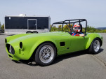 Tesla motor, Shelby Cobra body, Kia battery: watch electric Cobra stun a race crowd