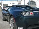 Tesla Roadster with CA Clean Air Vehicle sticker  --  flickr user jurvetson