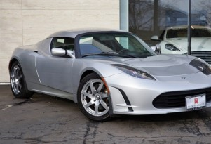 Tesla Roadster Prototype for sale on eBay