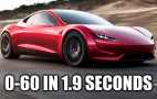 How can the new Tesla Roadster do 0-60 mph in 1.9 seconds?