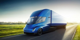 Tesla Semi: 500-mile range, lower running costs than diesel... and it's fast