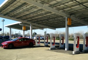Tesla Supercharger Network Growth Surges Over Last 14 Months