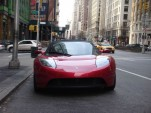 Tesla Roadster NYC
