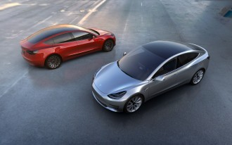 First Tesla Model 3 arrives Friday, two weeks ahead of schedule