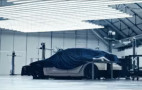 Tesla just teased a cloaked car, is it the Model Y?